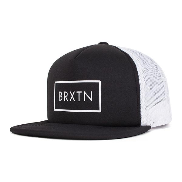 Rift Trucker Hat by Brixton- BLACK (Sale price!)