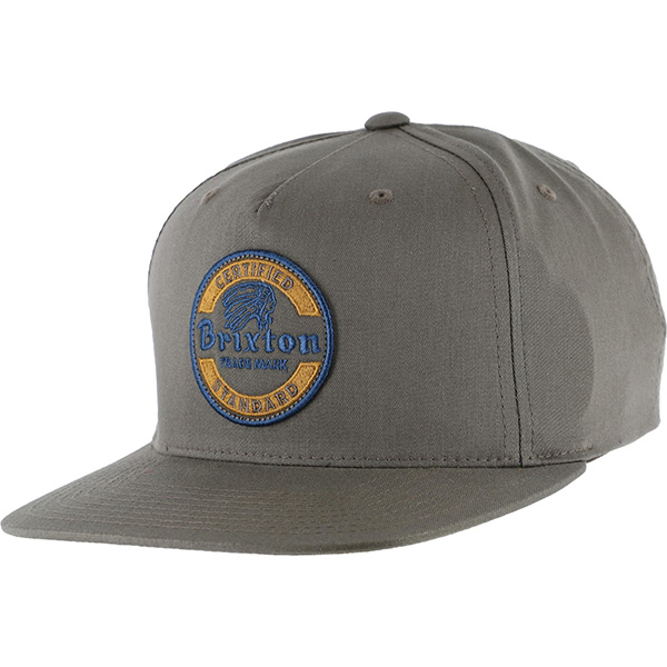 Soto Snap Back Hat by Brixton- CHOCOLATE (Sale price!)