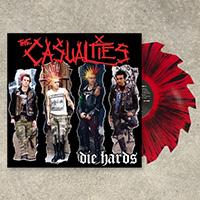 Casualties- Die Hards LP (Colored Saw Blade Vinyl)