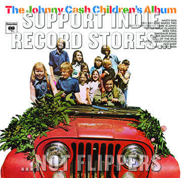 Johnny Cash- Childrens Album LP (Record Store Day 2017 Release)