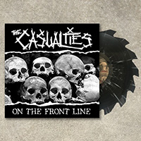 Casualties- On The Front Line LP (Colored Saw Blade Vinyl)