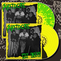 Antidote- My Life LP (Color Vinyl, Comes With Patch, Poster And Sticker)