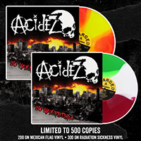 Acidez- No Hay Futuro LP (Color Vinyl, Comes With Patch, Poster And Sticker)