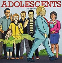 Adolescents- Cropduster LP (Ltd Ed 180gram Red Vinyl)