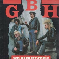 GBH- No Survivors (Live) LP (Red Vinyl) (UK Import!)
