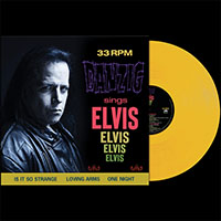 Danzig- Sings Elvis LP (Yellow Vinyl)