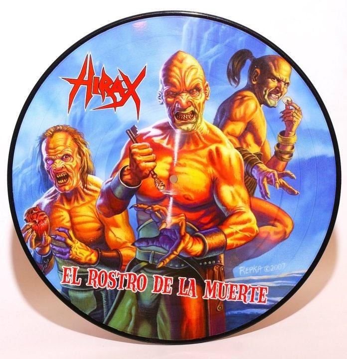 """Hirax- El Rostero De La Muerte Pic Disc LP + 7"""""""