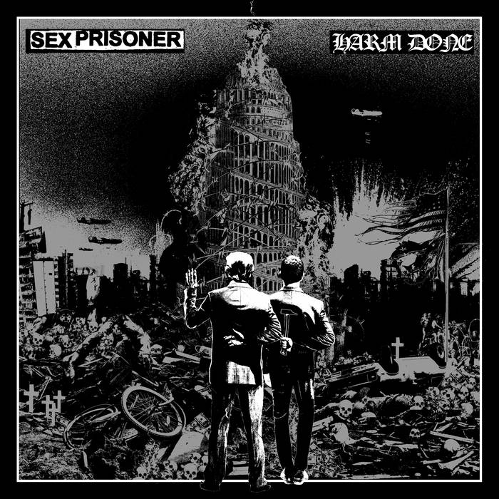 Sex Prisoner / Harm Done- Split LP (Color Vinyl)