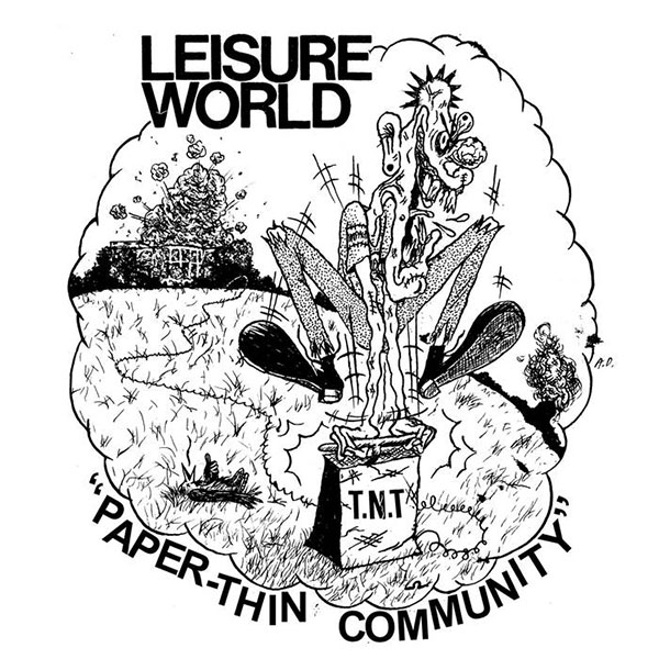 "Leisure World- Paper Thin Community 7"" (Sale price!)"