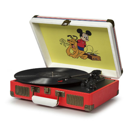 Cruiser Turntable by Crosley- Disney