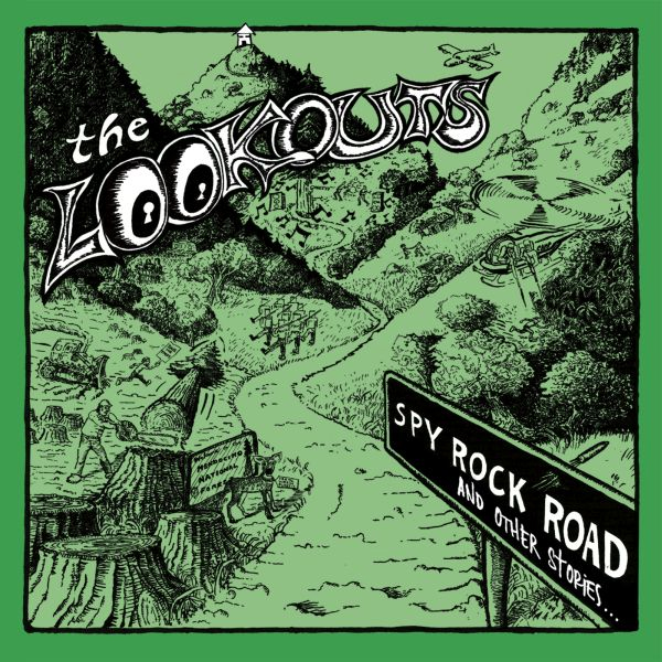 Lookouts- Spy Rock Road (And Other Stories) 2xLP (Green Day)