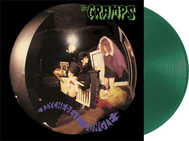 Cramps- Psychedelic Jungle LP (Ltd Ed Goo Goo Muck Green Vinyl)