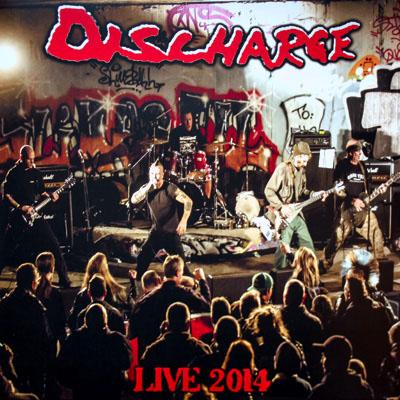 Discharge- Live 2014 LP