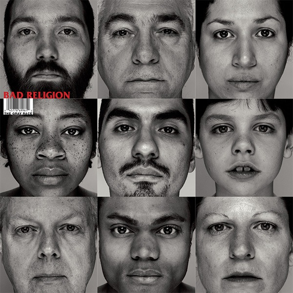 Bad Religion- The Gray Race LP (Tan Vinyl)