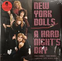 New York Dolls- A Hard Night's Day: Legendary 1973 Studio Demos 2xLP (Violet Vinyl)