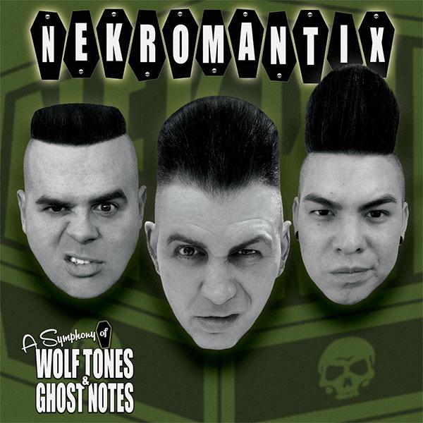 Nekromantix- A Symphony Of Wolf Tones & Ghost Notes LP (Ltd Ed Color Vinyl)