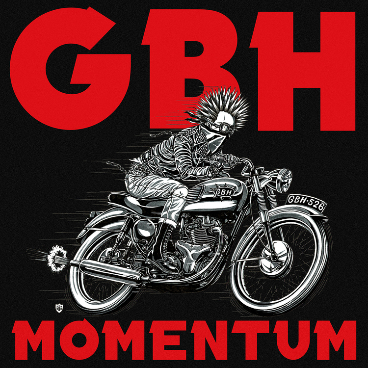 GBH- Momentum LP (Opaque Red Vinyl)