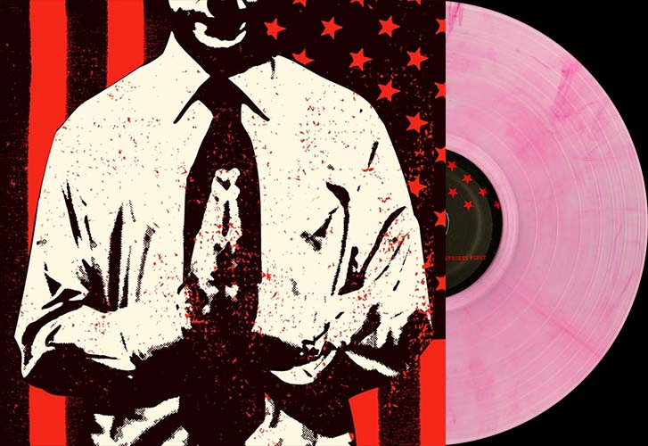 Bad Religion- The Empire Strikes First LP (Clear With Red Vinyl)