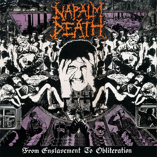 Napalm Death- From Enslavement To Obliteration LP