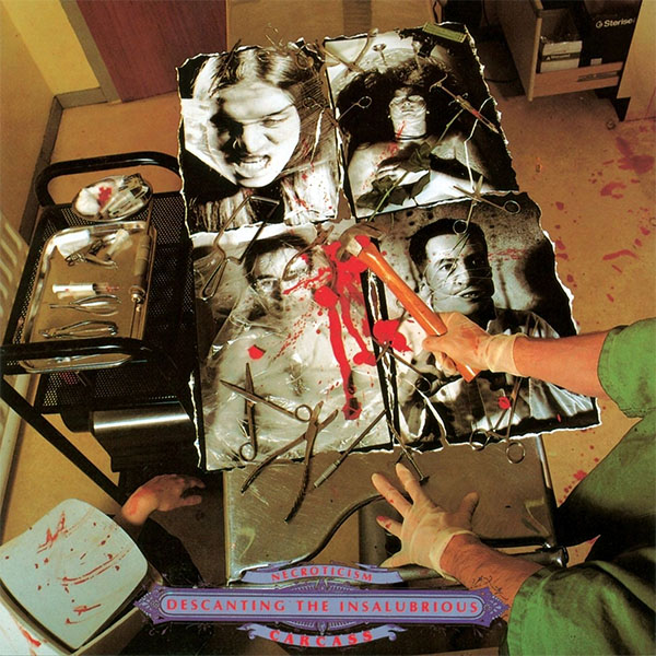Carcass- Necroticism, Descanting The Insalubrious LP