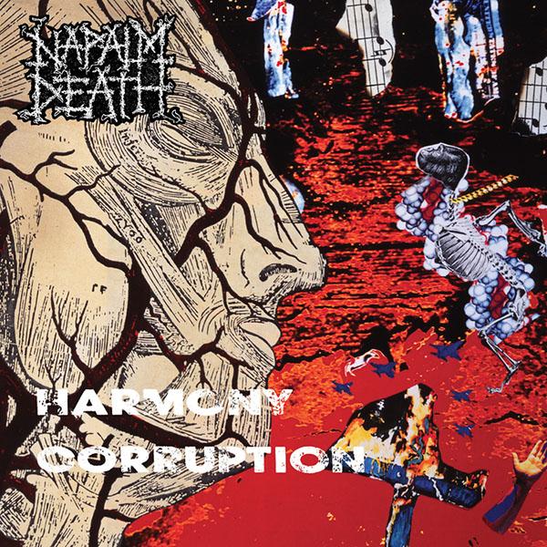 Napalm Death- Harmony Corruption LP