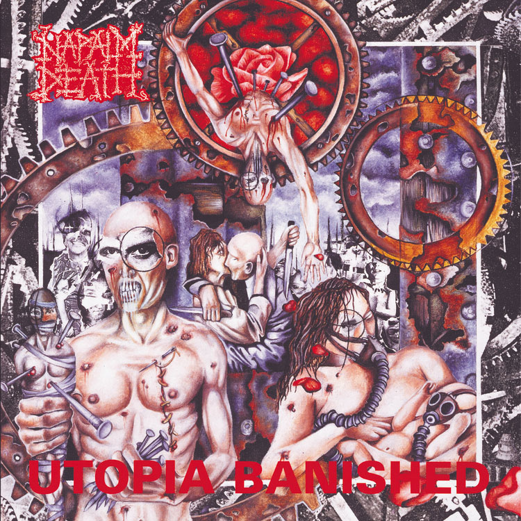 Napalm Death- Utopia Banished LP