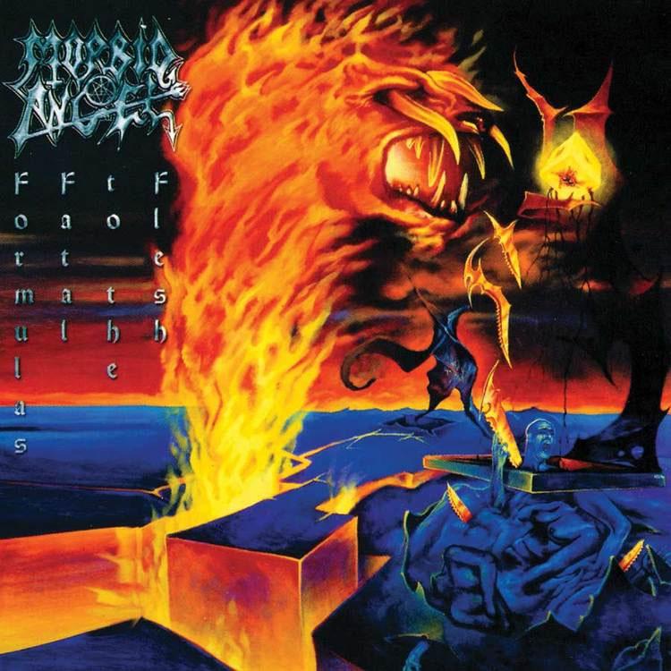 Morbid Angel- Formulas Fatal To The Flesh 2xLP