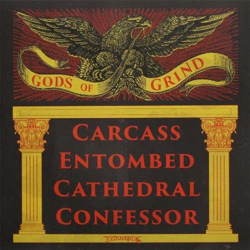 Carcass / Entombed / Cathedral / Confessor- Gods Of Grind 2xLP