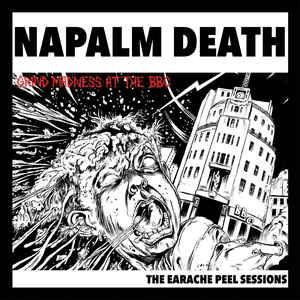Napalm Death- The Earache Peel Sessions LP