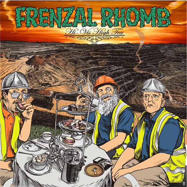 Frenzal Rhomb- Hi Vis High Tea LP