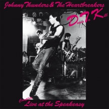 Johnny Thunders- DTK, Complete Live At The Speakeasy LP (Red & White Vinyl)