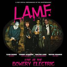 Lure, Burke, Stinson & Kramer (L.A.M.F.)- Live At The Bowery Electric LP (Johnny Thunders)