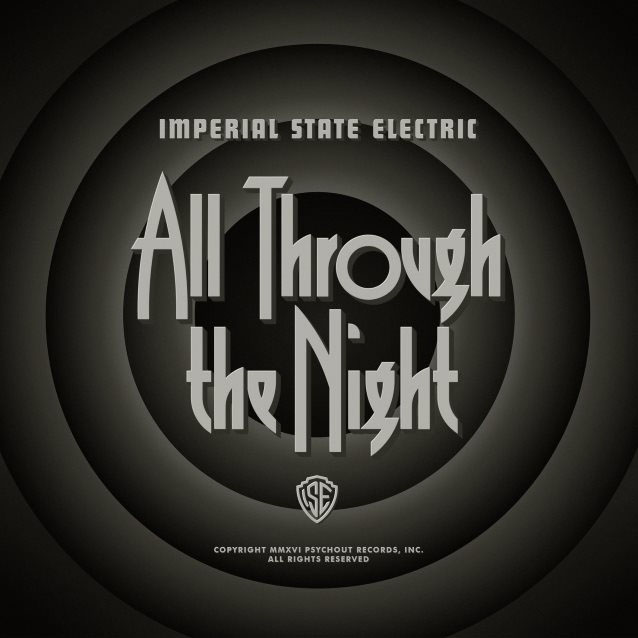 Imperial State Electric- All Through The Night LP (White Vinyl) (Record Store Day 2017 Release)