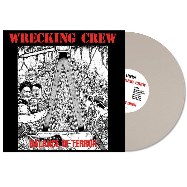 Wrecking Crew- Balance Of Terror LP (Grey Vinyl)