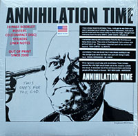 "Annihilation Time- S/T 12"" (Comes with CD, Poster, booklet & stickers!)"