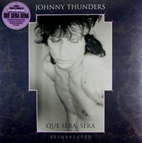 Johnny Thunders- Que Sera Sera Resurrected 2xLP (Purple & White Vinyl) (2019 Record Store Day Release)