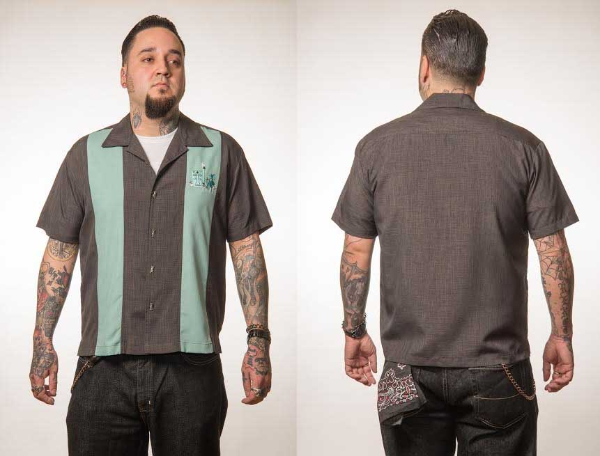 The mickey button up lounge shirt by last call steady for 3x shirts on sale