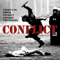 Conflict- There Is No Power Without Control, The Singles 2xLP (UK Import!)