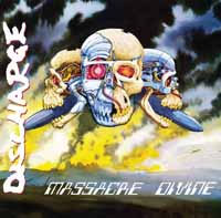 Discharge- Massacre Divine LP (UK Import!)