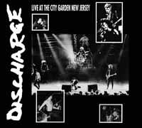 Discharge- Live At City Garden, New Jersey LP (Clear Vinyl) (UK Import!)