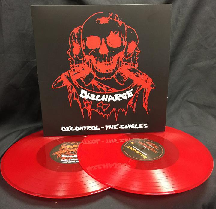 Discharge- Decontrol, The Singles 2xLP (Red Vinyl) (UK Import!)