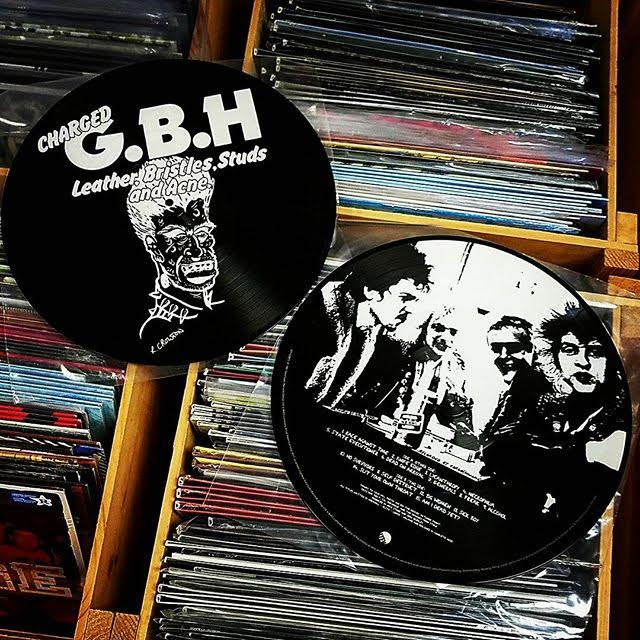 GBH- Leather Bristles Studs And Acne Pic Disc LP  (UK Import!) (Record Store Day 2017 Release)