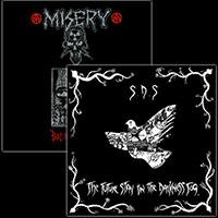 Misery/SDS- Split LP (Clear Vinyl)