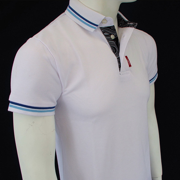 MPire Twin Tip Heritage Polo by Warrior Clothing- WHITE - SALE sz XL & 2X only