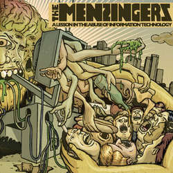 Menzingers- A Lesson In The Abuse Of Information Technology LP (White Vinyl)