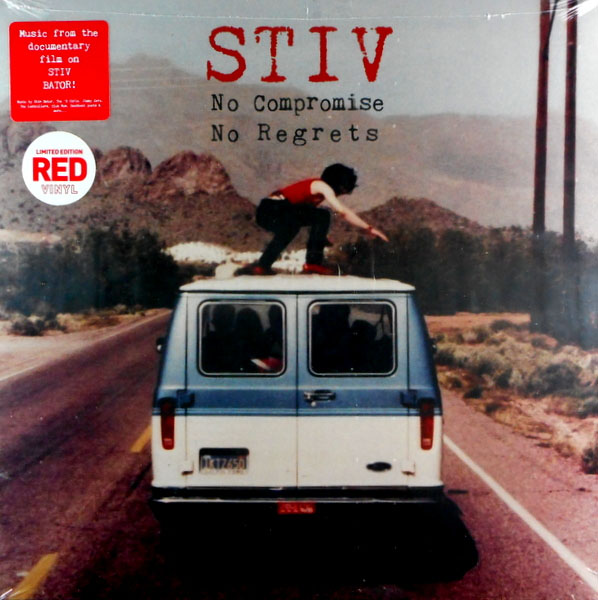 Stiv: No Compromise No Regrets LP (Red Vinyl) (Record Store Day 2019 Release)