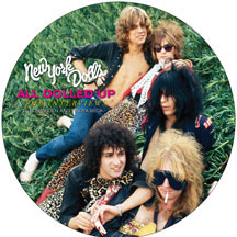 "New York Dolls- All Dolled Up, The Interviews Pic Disc LP (11"") (Sale price!)"