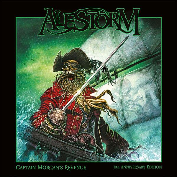 Alestorm- Captain Morgan's Revenge (10th Anniversary Edition) LP