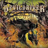 Devildriver- Outlaws 'Til The End Vol 1 LP (Ltd Ed Orange Vinyl)