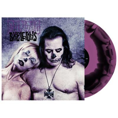 Danzig- Skeletons LP (Ltd Ed Purple W/ Black Splatter Vinyl)